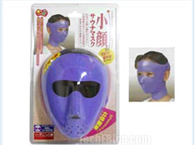 Schlankheitsmaske für das Gesicht